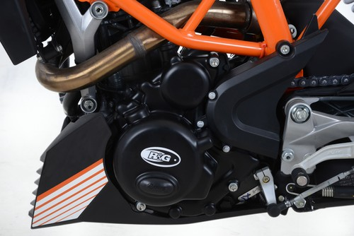 R/&g RACING PORTATARGA KTM RC 125//200//390 2014-Licence Plate Holder