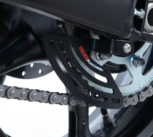 R/&G Racing TG0002B1 Black Aluminum Toe Guard