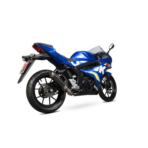 Suzuki DL650 V-Strom 14 Stainless Round Muffler Exhaust 04 05 06 07 08 09 10