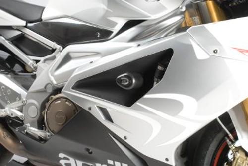 R/&G Crash Protectors Classic Style for Aprilia Tuono 2006-2007 Black