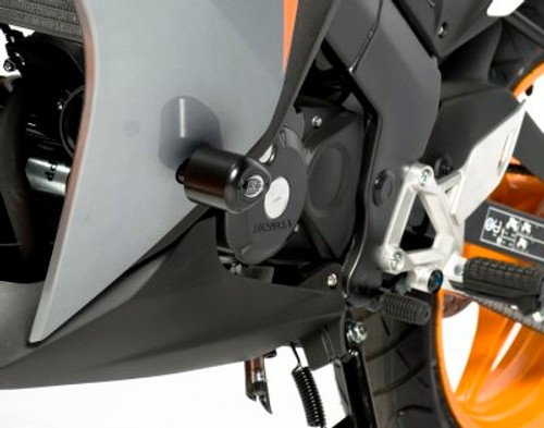 "R/&G RACING 22mm 7//8/"" HOT Heated Handlebar Grips /& GLOVES Honda CBR125R 2014"