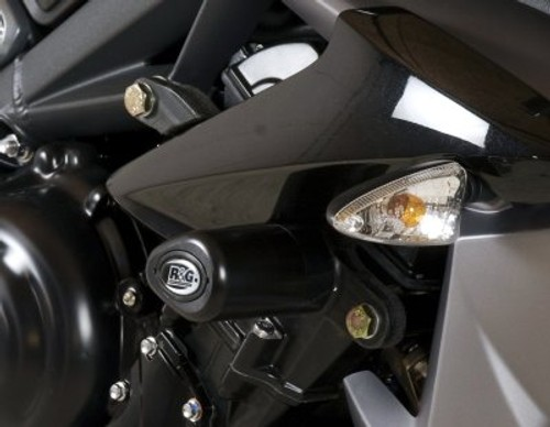R/&G Racing Shocktube Rear Shock Cover to fit Triumph Street Triple 2013-2015